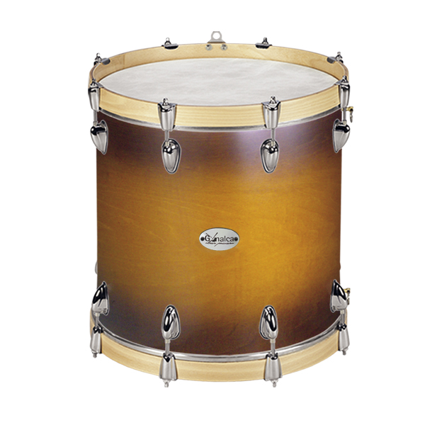 TIMBAL 38X40CM MAGEST QUADURA REF. 04724 - ACABADO MIEL DOBLE SUNBURST NOGAL GC0011